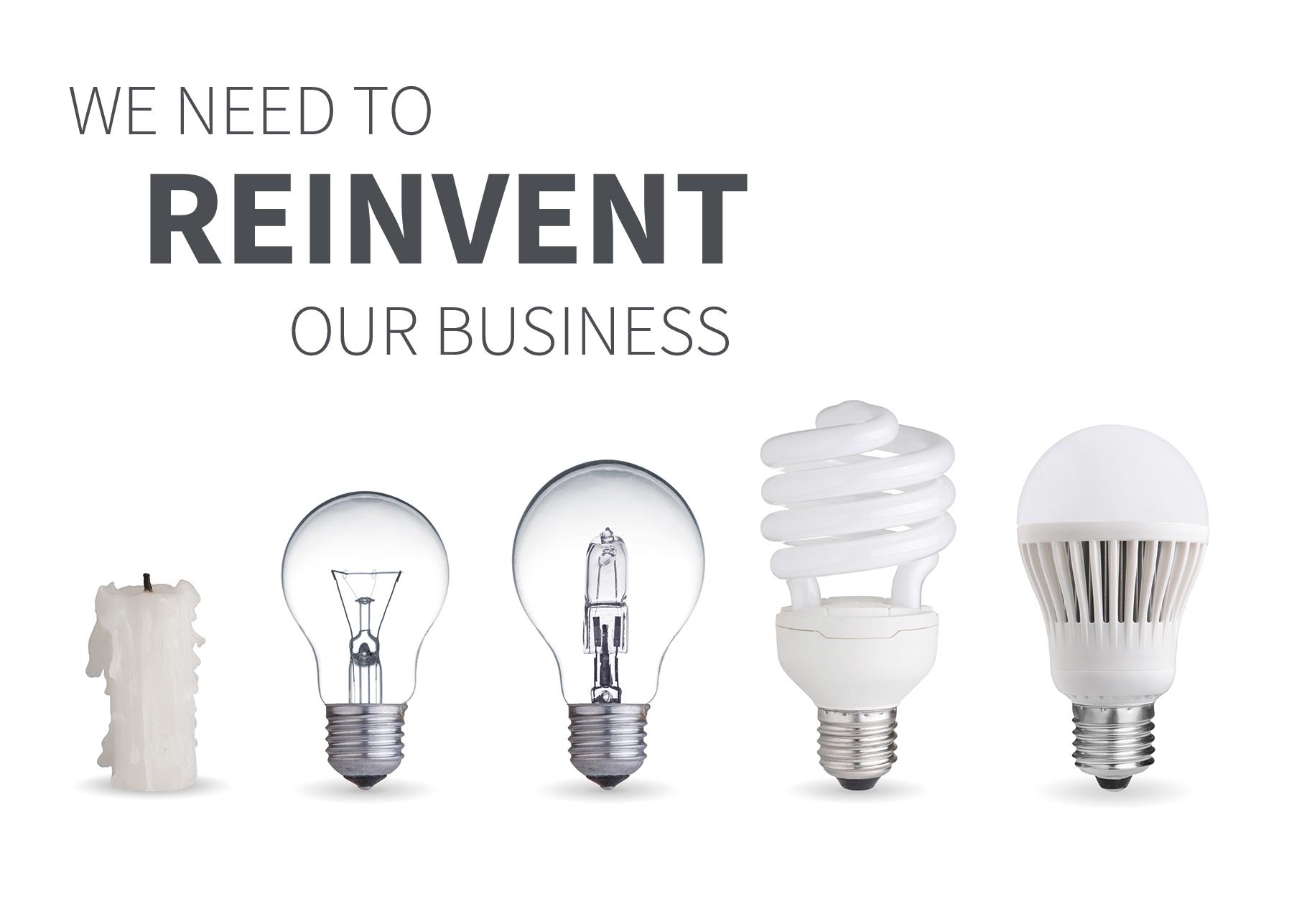 Outcome 6 - Reinvent